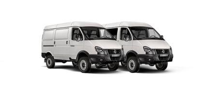 Цельнометаллический фургон ГАЗ Соболь Бизнес