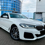 Новый BMW 5 2021 фото