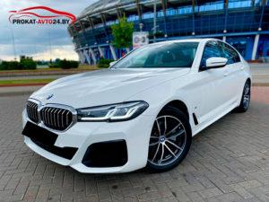 Прокат BMW 520d G30 2021