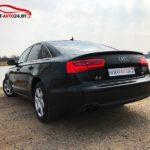 Аренда Audi A6 в Минске с выездом за границу