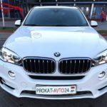 Аренда автомобиля БМВ Х5 белого цвета