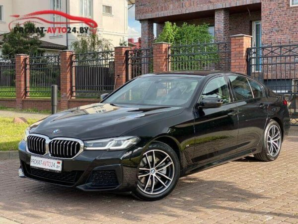 Аренда BMW 5 серия G30 в Минске
