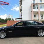 Аренда BMW 7 без водителя в Минске