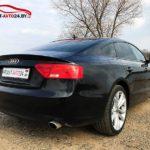 Аренда черной Audi A5 в Минске для свадеб