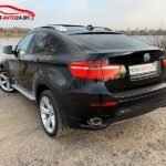 Аренда машины BMW X6 E71 на свадьбу с водителем