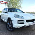 Аренда Porsche Cayenne белого цвета в Минске