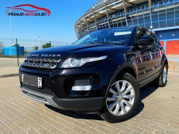 Аренда Range Rover Evoque без водителя и с водителем