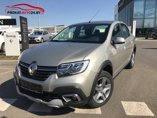 Аренда Renault Logan Степвей в Минске