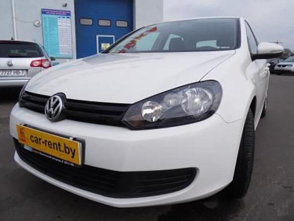 Аренда Volkswagen Golf 6 2012
