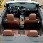 Audi A5 фото салона внутри