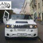Джин-лимузин Hummer H2 на свадьбу