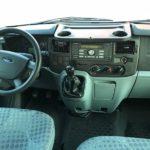 Ford Transit фото панели приборов