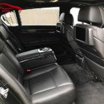 Фото кожаного салона автомобиля BMW 7 F01