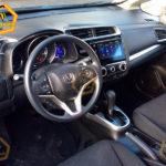 Honda Fit фото панели приборов