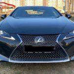Lexus LC 500 черный
