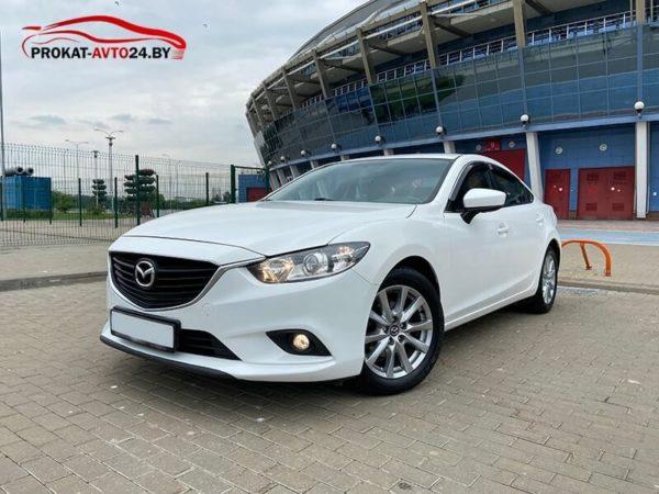 Mazda 6 в аренду с водителем и без водителя