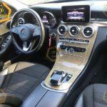 Mercedes C-klass фото панели приборов