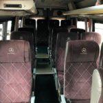 Пассажирские места микроавтобуса Sprinter