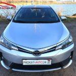 Прокат авто Тойота Королла на свадьбу в Минске