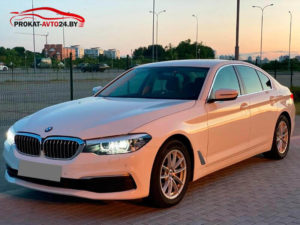 Прокат BMW 5 Серия G30 2017 г
