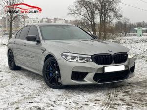 Прокат BMW M5 F90 в Минске