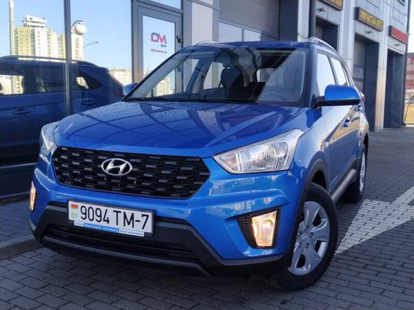 Прокат Hyundai Creta 2021