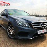 Прокат Mercedes E250D 4matic без водителя на сутки, неделю, месяц