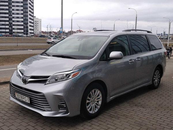 Прокат Toyota Sienna 2018