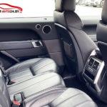 Рендж Ровер Спорт II - фото задних сидений