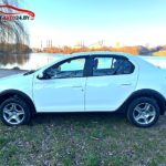 Рено Логан Степвей 2020 в новом кузове белого цвета