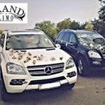 Внедорожник Mercedes GL-class на свадьбу