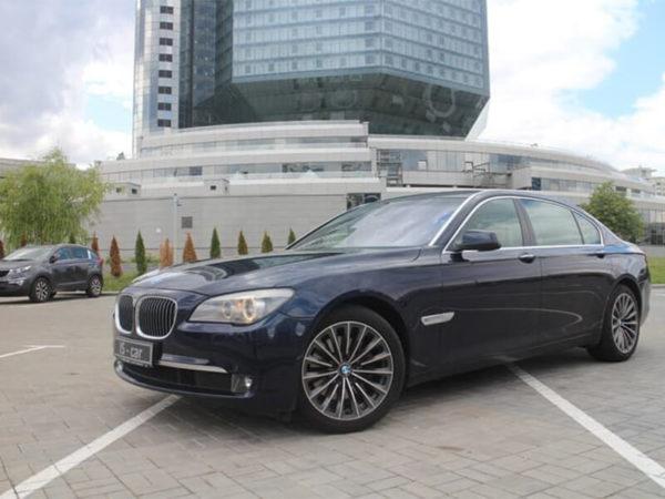 Аренда BMW 730 2012