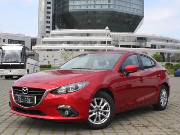Аренда Mazda 3 2016