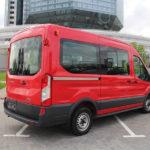 Ford Transit Middle 2016 МКПП красного цвета