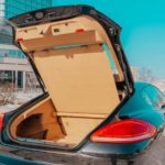 Фото багажника Porsche Panamera 2014